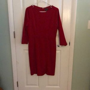 Red dress from The Limited size 8